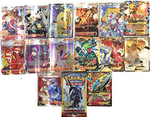 14 Pokemon Full Art Cards From The XY Trainer Premium Collection Box WITH BONUS Dollar Tree Booster Pack Of 3 Trading Cards.