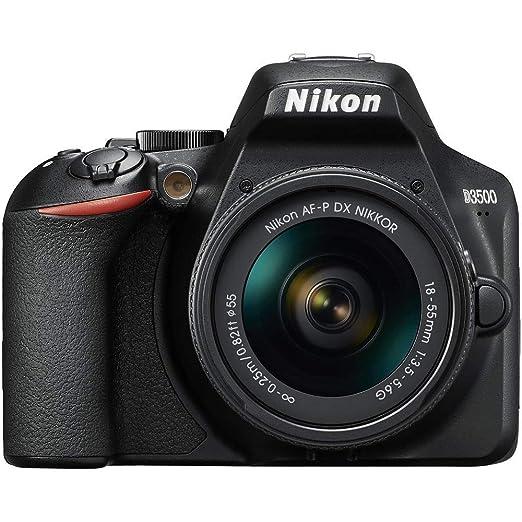 Nikon D3500 - Cámara Réflex, Kit con Objetivo 18/55, 24.2 MP, DX ...