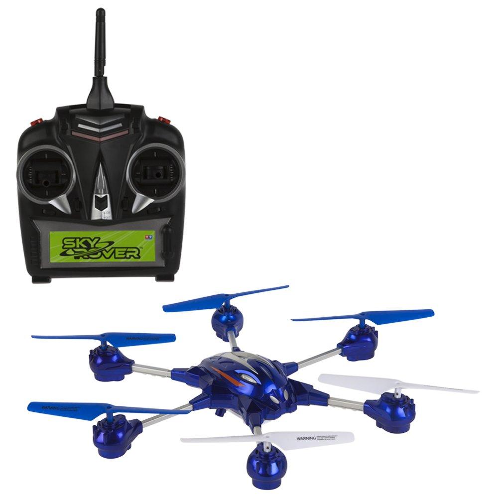 Sky Rover - Hexa 6.0 con cámara, hexadron teledirigido 4 canales, color azul (ColorBaby 41834)