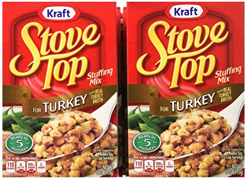 Stove Top Stuffing Mix  Turkey  6 Ounce Box  Pack Of 12