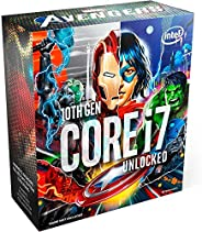 Processador Intel Core i7-10700K Marvel´s Avengers Collector´s Edition Packaging, Cache 16MB, 5.1GHz, LGA1200