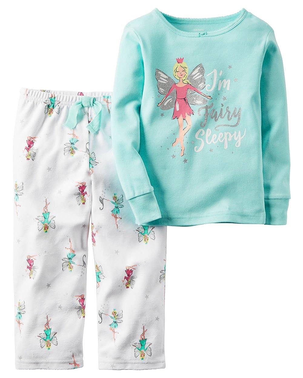 870812d85 Amazon.com  Carter s Girl Striped Owl Henley   Mixed-Print Pants ...