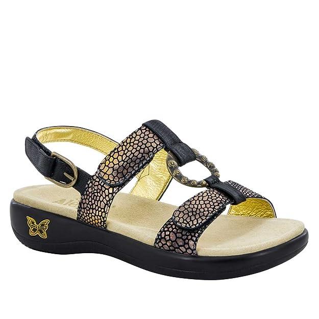 Alegria Mujeres Sandalias de Piso, Talla: Amazon.es: Zapatos y complementos