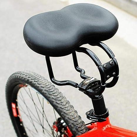WOOAI Sillín de Bicicleta Big Ass, Ancho y Grande, para Bicicleta ...