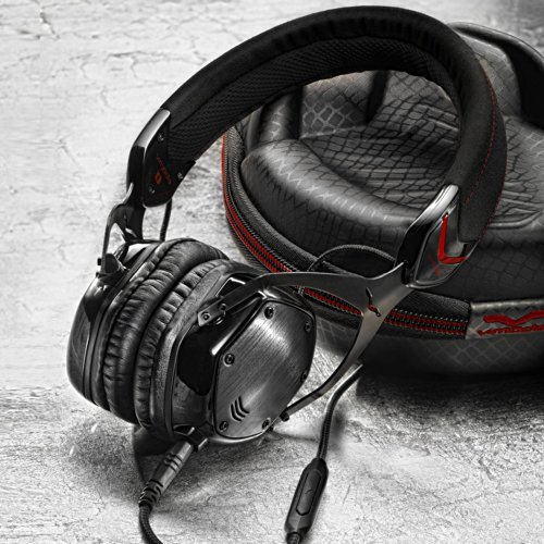613qQQTAnNL - V-MODA Crossfade M-80 Vocal On-Ear Noise-Isolating Metal Headphone (Shadow)