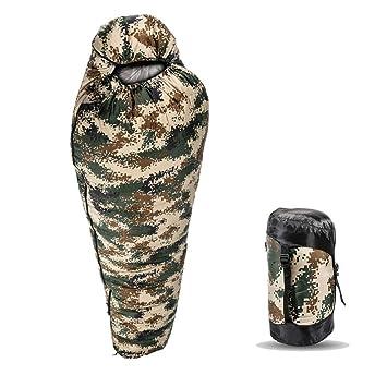 Mummy Sleeping Bag Saco de Dormir de Momia de 0 Grados LIUSIYU - Clima frío Ultra
