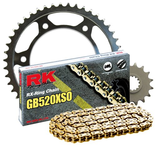 RK Racing Chain 1062-079SG Steel Rear Sprocket and GB520XSO Chain 520 Steel Conversion -