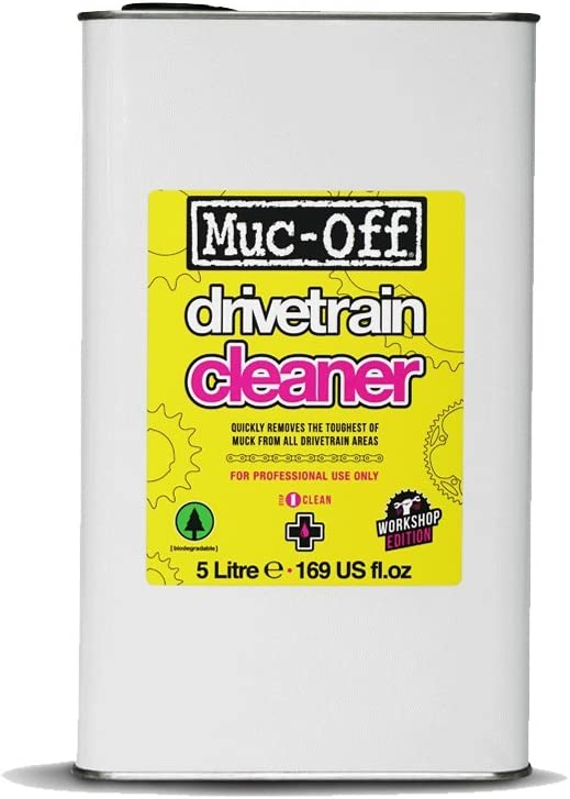 Muc Off Drive Unisex Adult Chain Cleaner - Yellow