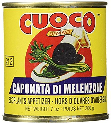 Cuoco Caponata Di Melenzane Eggplant Appetizer 7oz (Pack of 3) by Cuoco