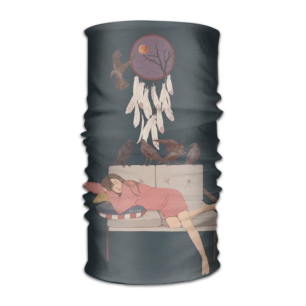 Magic Headwear Drawings Illustration Outdoor Scarf Headbands Bandana Mask Neck Gaiter Head Wrap Mask Sweatband