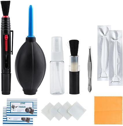 Zacro 14 Pcs Kit Limpieza Cámara Reflex Profesional para Cámaras ...