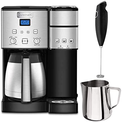 0732758ebfd Cuisinart SS-20 Coffee Center 10-Cup Thermal Single-Serve Brewer Coffeemaker  Silver
