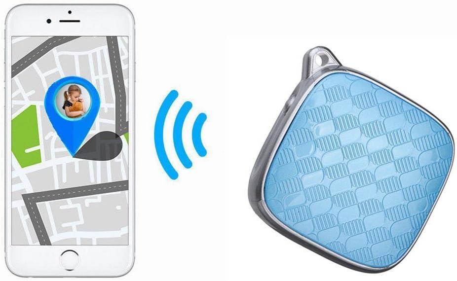 Tine Mini GPS Tracker impermeable GPS Monitor de actividad y seguimiento de tiempo real dispositivo localizador con llavero para niños y ancianos