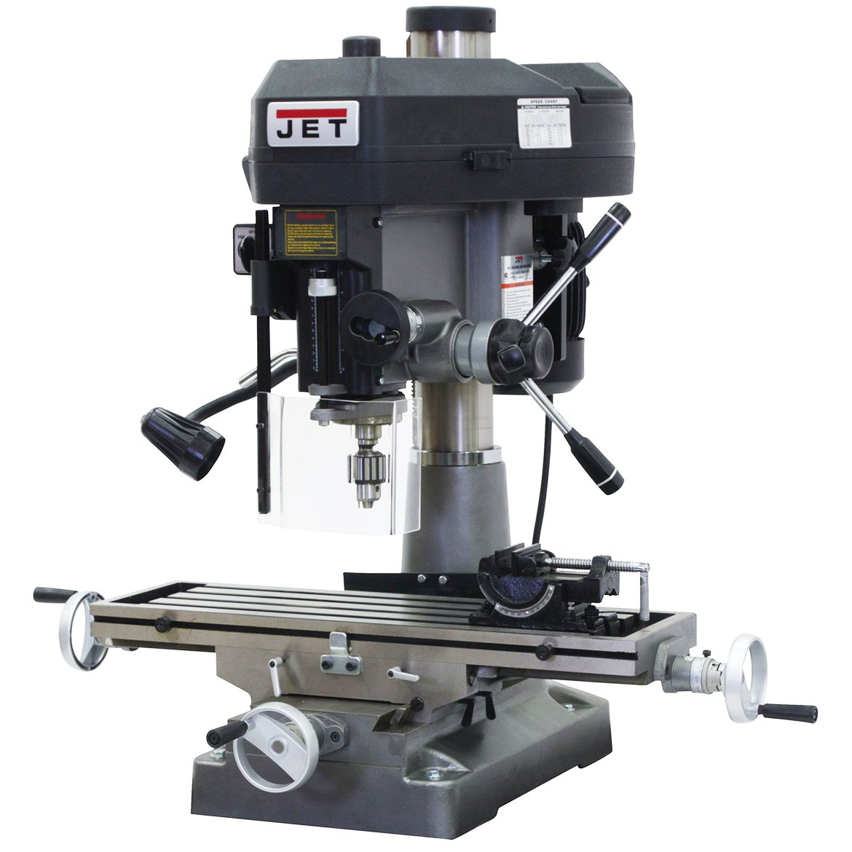 JET JMD-18 350018 230-Volt 1 Phase Milling/Drilling Machine