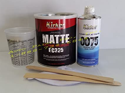 Amazon Com Ec325 Matte Kirker Urethane Auto Paint Clear Coat