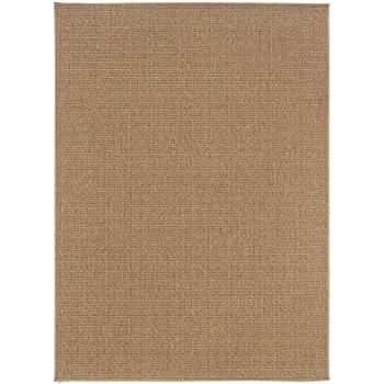 Oriental Weavers 2067X Karavia Area Rug, 3-Feet 7-Inch by 5-Feet 6-Inch, Sand