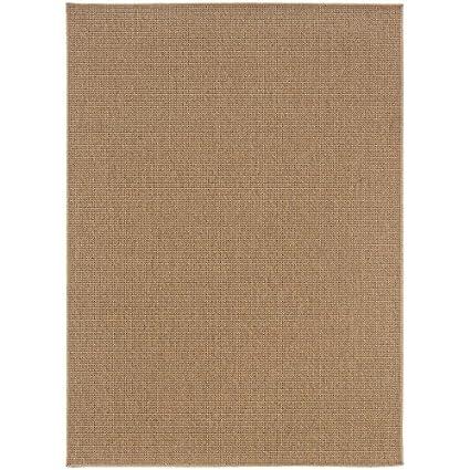 Oriental Weavers 2067X Karavia Area Rug, 6-Feet 7-Inch by 9-Feet 6-Inch, Sand