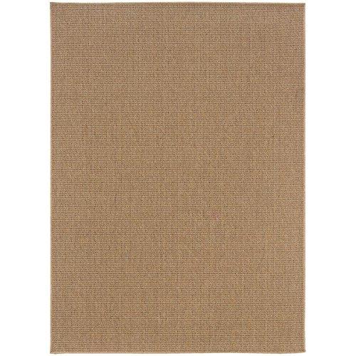 - Oriental Weavers 2067X Karavia Area Rug, 2-Feet 5-Inch by 4-Feet 5-Inch, Sand