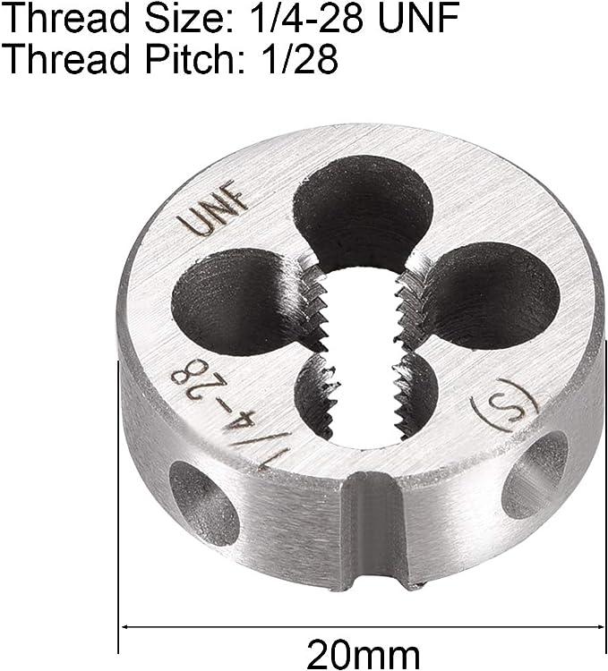 Drill America #10-32 1OD High Speed Steel Round Adjustable Die DWT Series