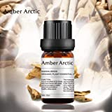 AMBER ARCTIC Sandalwood Essential Oil for Diffuser, 100% Pure Fresh Organic Plant Therapy Sandalwood Oil 10ml/0.33oz