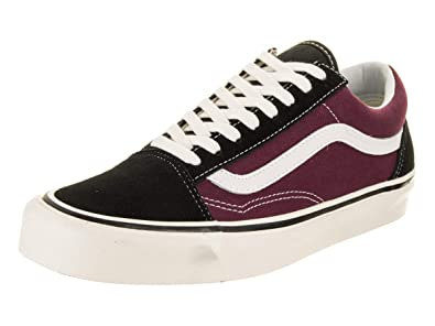 d8c7725abc Vans Men Old Skool DX - Anaheim Burgundy White Black Size 3.5 US