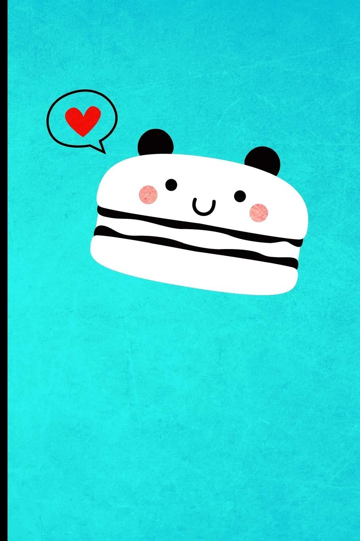 Journal: Cute Animal French Macaron Panda Bear Design | 128 College