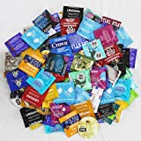 Condoms Variety Trojan, Durex, Lifestyles, One, Atlas, Beyond Seven, Crown, Trustex, Impulse, Fantasy, Caution Wear, and More [The Random Fun That You Will Not Know Until You Have Used.] : Pack 36 Condoms