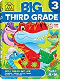 School Zone - Big Third Grade Workbook - Ages 8-9, Reading, Writing, Math, Science, History, Social Science, Reading Comprehension, and More (Big Get Ready Workbook)