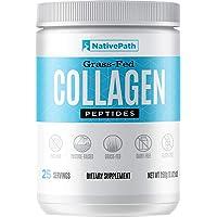 NativePath - Collagen Protein Powder - 8.82 Oz. - 25 Servings - From Premium Grass-Fed...