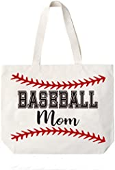 abe4b3131ea Cocomo Soul Baseball Mom Canvas Tote Bag Perfect Gift for Team MOM Baseball  MOM