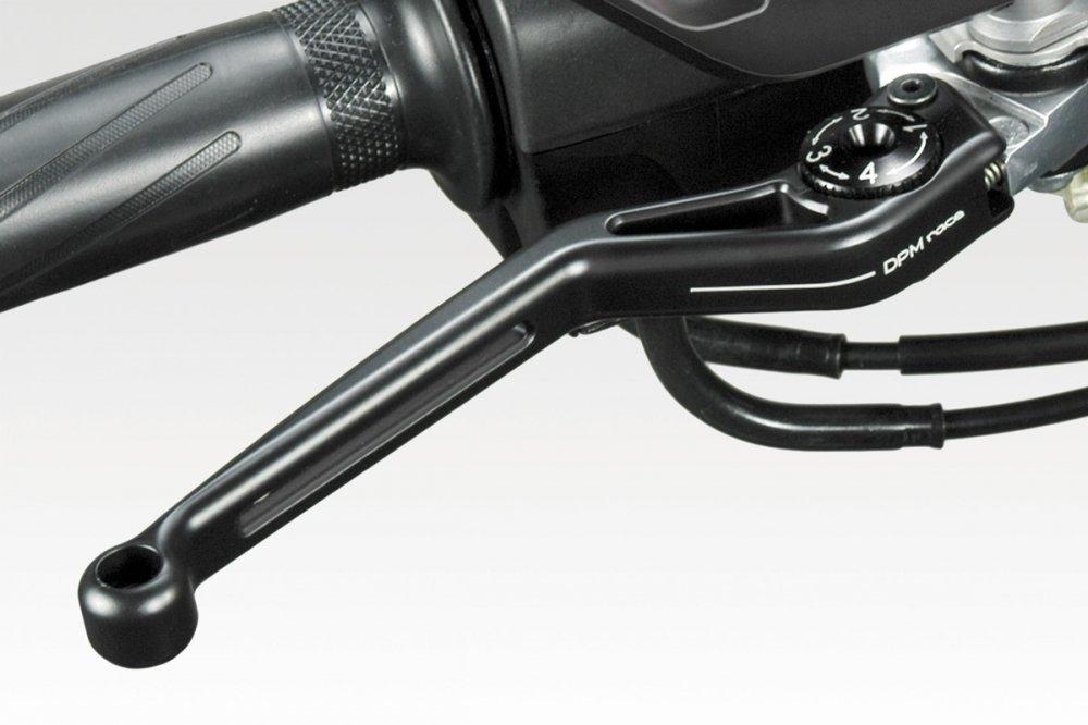 - 100/% Made in Italy Yamaha T-MAX 2017 Kit Leve Exential DPM Accessori De Pretto Moto Nero Opaco Set Controlli Comandi Freno e Frizione in Alluminio di Facile Installazione