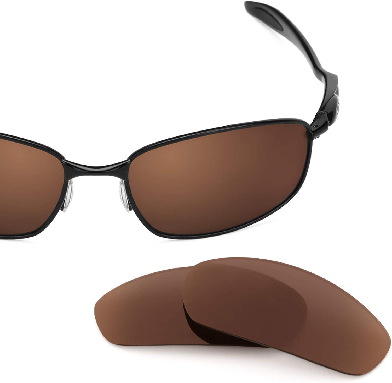 Revant Verres de Rechange pour Oakley Blender - Compatibles avec les Lunettes de Soleil Oakley Blender Marron Foncé - Polarisés