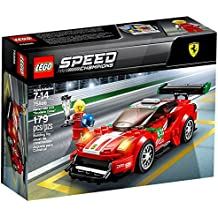 "Lego Speed Champions Ferrari 488 GT3 ""Scuderia Corsa"" 75886 Building Kit (179 Piece), Multi"