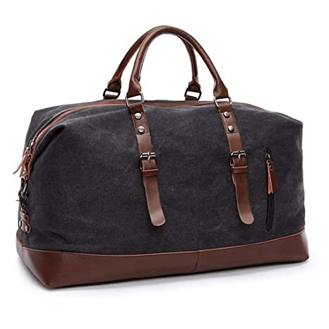 Large Capacity Canvas Weekender Bag 20beb31d8e784