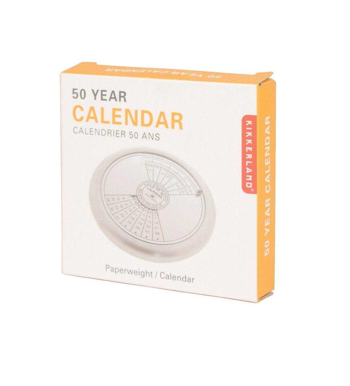 Year Calendar Kikkerland : Amazon kikkerland year calendar paperweight cal