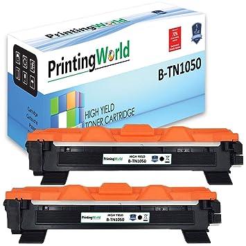 PrintingWorld Reemplazo para Brother TN1050 TN-1050 Cartucho de ...