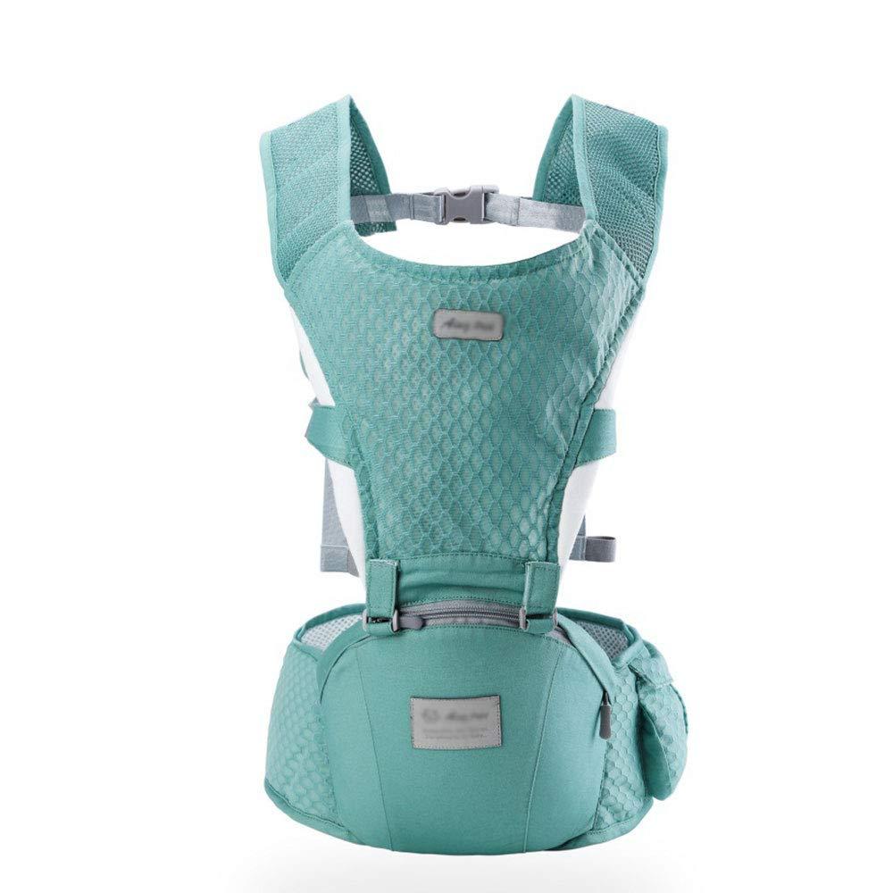 CPDZ Reise-Babytrage Herausnehmbare Babytrage Komfortable Und Ergonomische Kinder- Und Neugeborenentrage Multi-Position Tragetrage Navy Blau