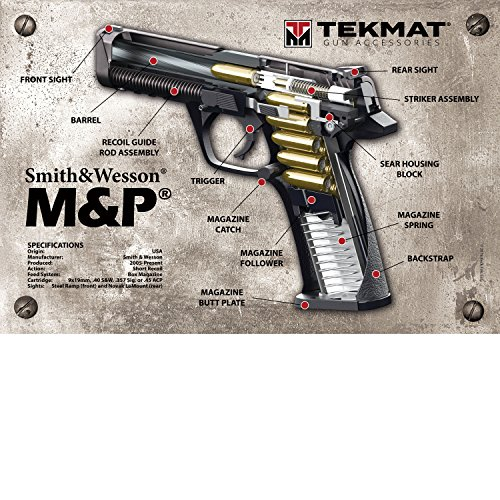 (TekMat Smith & Wesson M&P 3D Cutaway Poster/24