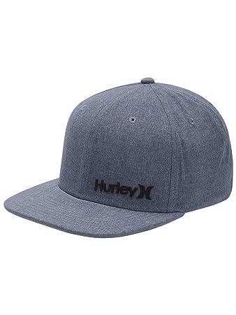 6b5e3a0b34f66 Hurley Mens WSL Phanton Corp Blue Cap OS Obsidian (451)