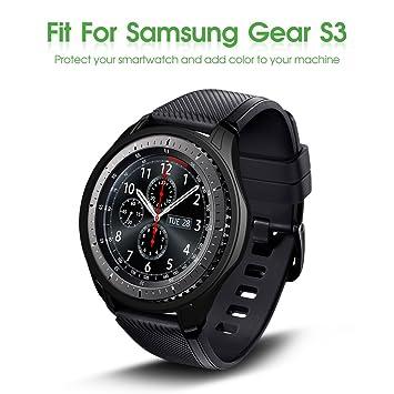 awinner Coque pour montre Gear S3 Frontier SM-R760, protection anti-chocs et robuste pour smartwatch (montre connectée)