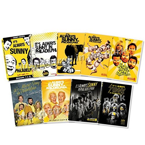It's Always Sunny in Philadelphia The First Decade - Seasons 1-10 Set (Mcpoyle Vs Ponderosa The Trial Of The Century)