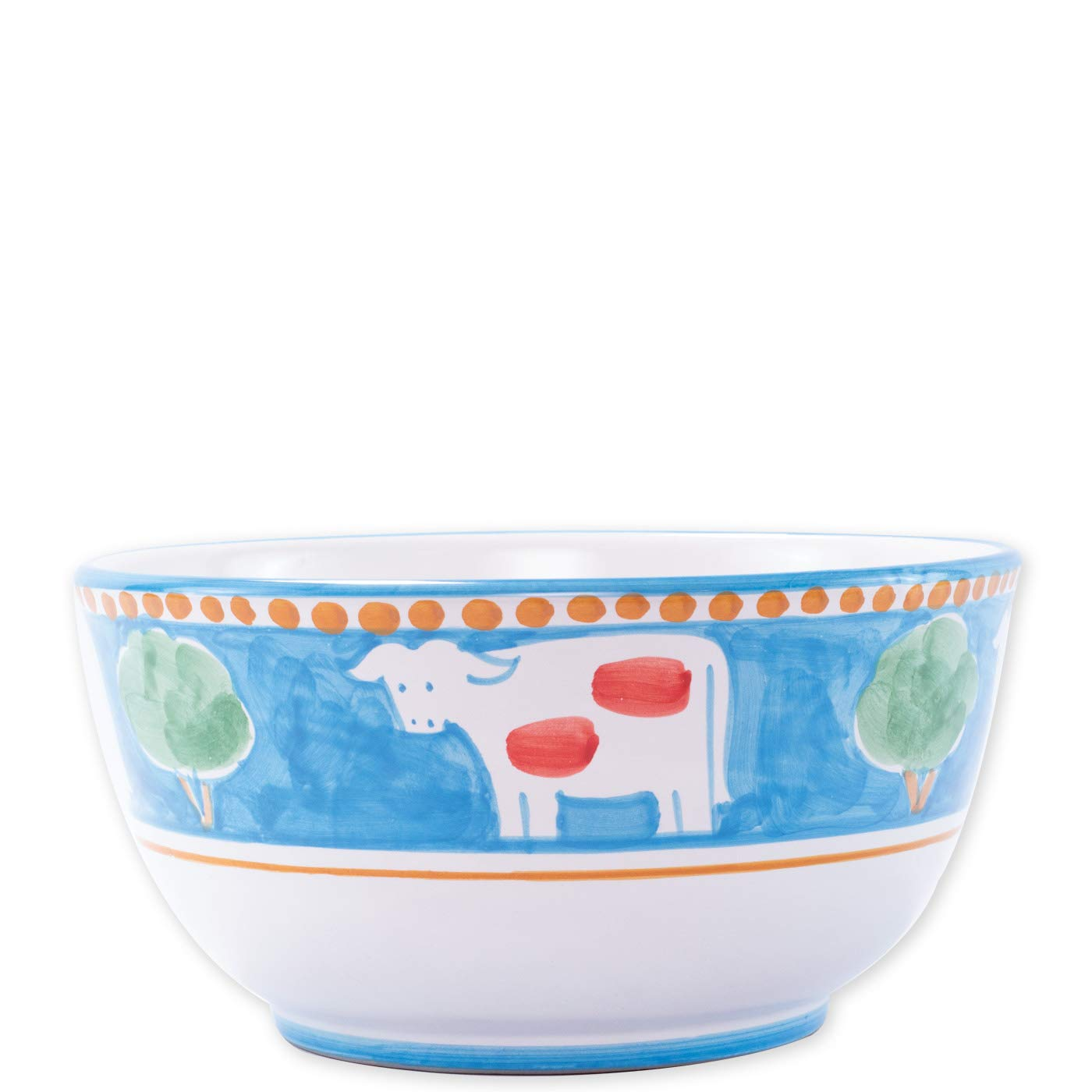 Vietri Mucca Deep Serving Bowl - Campagna Collection
