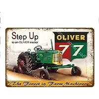 shovv Vintage Decoración para el hogar Máquina Tractores