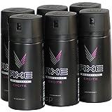 Axe Excite–Juego de 6déodorants en spray 150ml