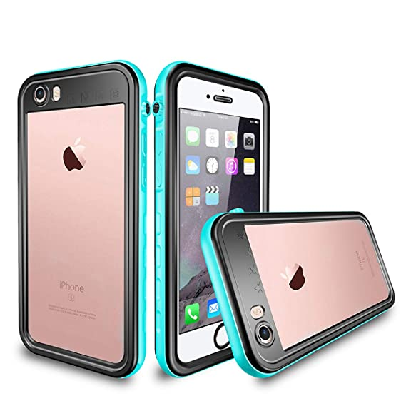 the latest 8a8a5 5f43b iPhone 8 Plus / 7 Plus Waterproof Case, AIUERU Shockproof case for iPhone 8  Plus / 7 Plus 5.5 inch with IP68 Waterproof Function with Built-in Screen  ...