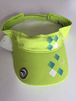Fayde Golf Ladies 4 Ever Ladies Citrus Golf Sun Visor with Magnetic ... 2008a37963a