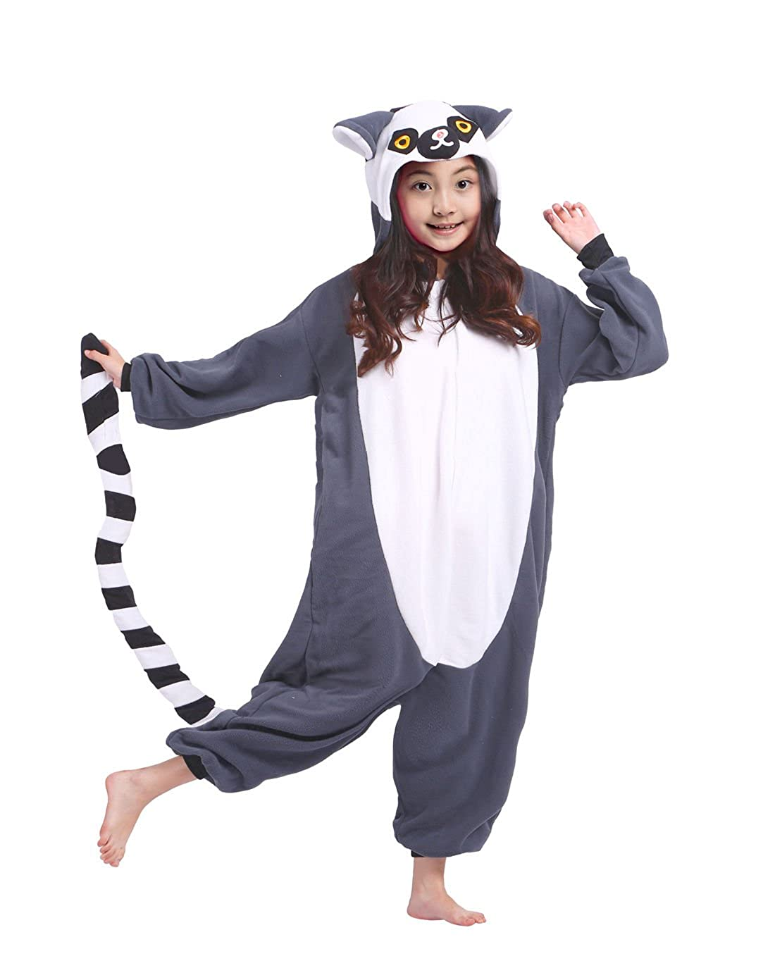 Wamvp Pigiama Animali Kigurumi Onesie Bambina Cosplay Costume Tutina Bimbo KIDSY-Y