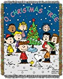 northwest company throw - Peanuts, Charlie Brown, Charlie Brown Christmas 48-Inch-by-60-Inch Acrylic Tapestry Throw by The Northwest Company
