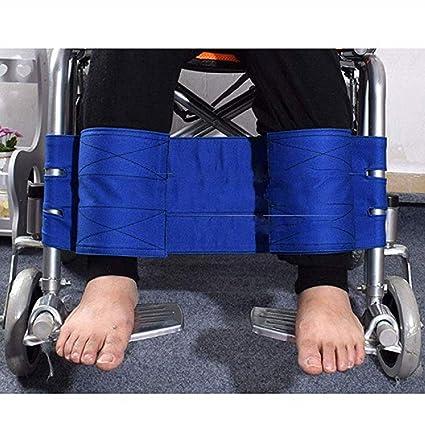 Reposapiés para silla de ruedas Correa para la pierna Cinturón de seguridad, restricciones de seguridad