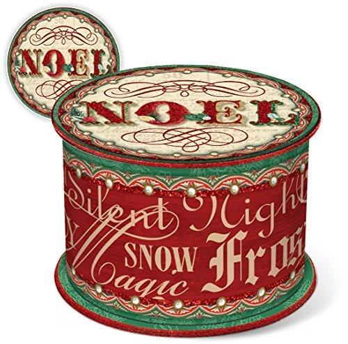 - Punch Studio Christmas Scented Soap in Mini Spool Shaped Box (Vintage Noel)